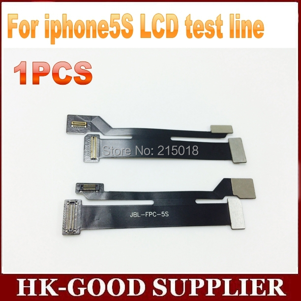 1pcs LCD extension cord For iphone5s LCD test line freeshipping(China (Mainland))