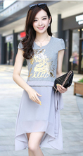 2014 Hot Style Ladies Wear Elegant Beautiful Dress Soft Chiffon Dress For Lady(China (Mainland))