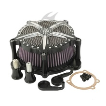 Air Cleaner Intake Filter For Harley Touring Road King Electra Street Glide 2002-2007(China (Mainland))