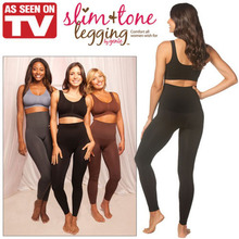 High Waist Slim Tone Leggings High waist Slimming Pants Slim Panty Slimming tone legging by genie