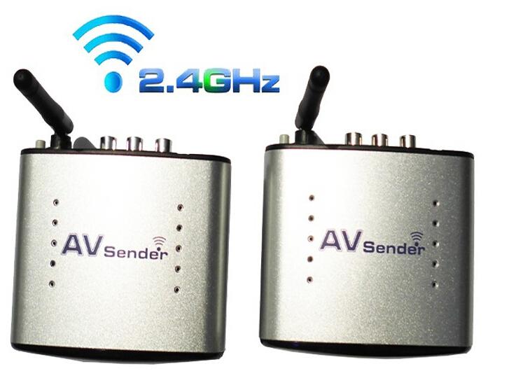 New 2.4GHz Wireless AV Audio Video Sender Transmitter Receiver Support 4 groups of channels 110V-220V 150M PAT330 Free Shipping(China (Mainland))