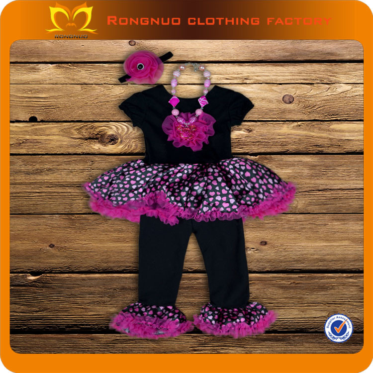 2014 Childrens boutique clothing new kid sex dress Valentine's day lovely flower girl dress for wedding 12sets/lot(China (Mainland))