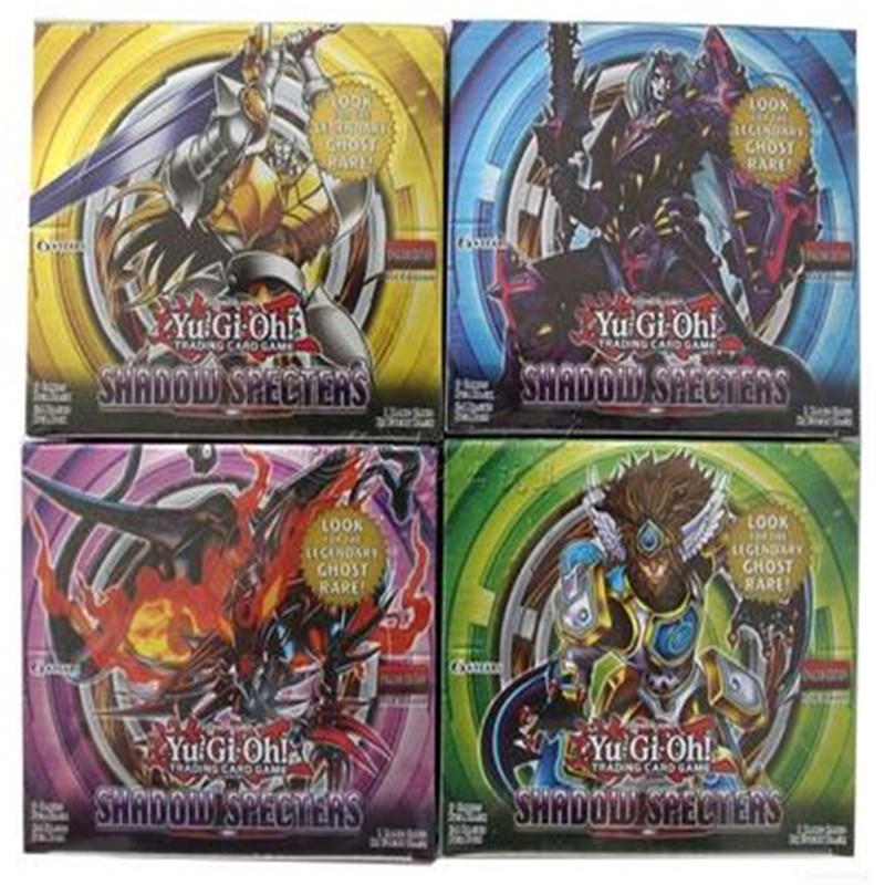 9 pcs/lot Yugioh Cards Y806 Shadow Specters Look For The Legendary Ghost English Version Family Entertainment Game Card Kid Toy(China (Mainland))