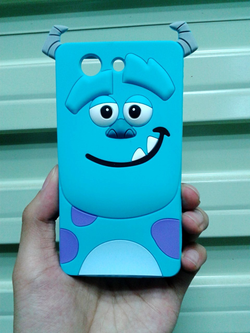 3D Cartoon Sulley Design Soft Rubber Silicone Back Cover Case SONY Xperia Z4 Compact - Made In China Centre store