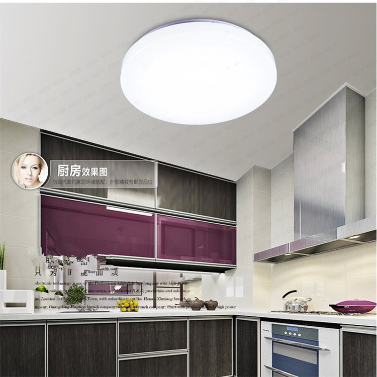 Tesco black ceiling lights : Special tesco round led acrylic ceiling lamp bedroom