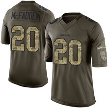 Men's #20 Darren McFadden Limited Black 2016 Salute to Service Football Jersey 100% stitched(China (Mainland))