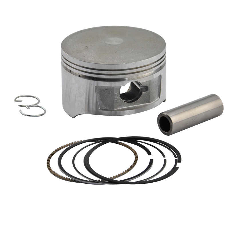 Motorcycle Aluminium Engine Parts Cylinder Piston Kit with Rings Set for CH250 +50 0.5mm Oversize Bore Size 72.5mm New(China (Mainland))