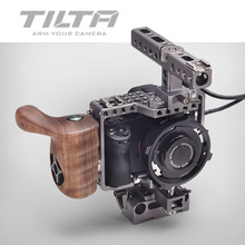 Buy Tilta A7 camera Rig A7S A7S2 A7R A7R2 Cage + Baseplate + Wooden Handle + Top Handle SONY A7 series camera for $506.25 in AliExpress store