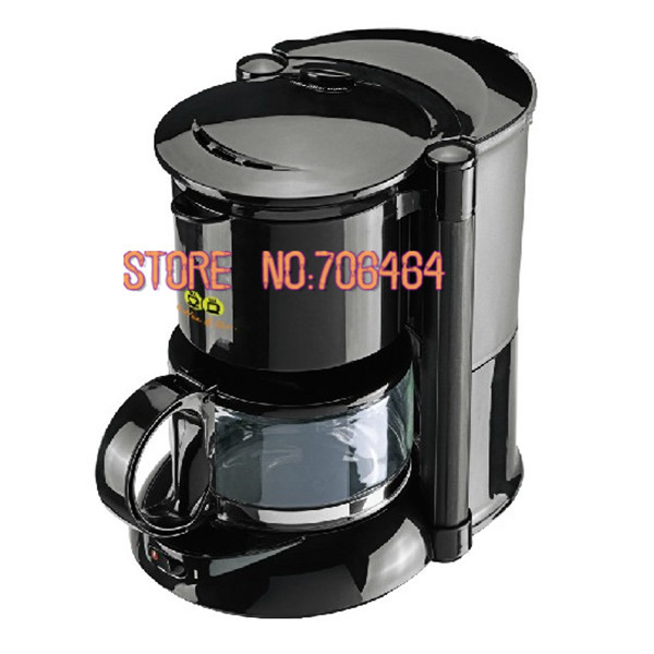 Fully automatic coffee maker drip coffee machine fashion electic kitchen appliance design high quality(China (Mainland))