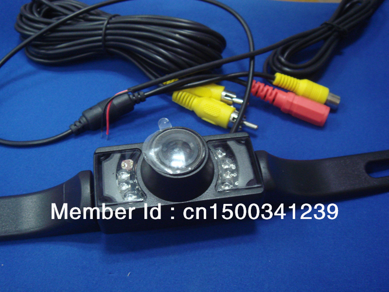 2.4g wireless night vision car rearview camera for car GPS navigation AV-IN ,Waterproof ,shockproof