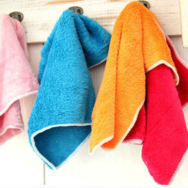Soft Fiber Cleaning Cloths Household Tools Dishcloths Rags Washing Car Towel - Evan's International Store store