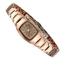Ksd famosa marca de acero de tungsteno relojes mujer vestido reloj de cuarzo 100 m buceo reloj Rhinestone del diamante de lujo