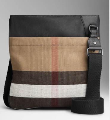 new 2015 men Messenger Bag canvas check crossbody bag casual Retro Style plaid bag For Man p88(China (Mainland))