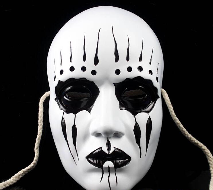 Grátis frete Horror resina Slipknot Joey máscara de Halloween / natal Costume teatro presente novidade máscaras do partido para o presente adulto(China (Mainland))