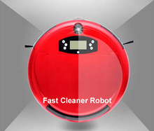 Wet and Dry Voice Robot Vacuum Cleaner ( (Sweep,Vacuum,Mop,Sterilize),Schedule,2 Side Brush,Self Recharge,Anti-Fall(China (Mainland))