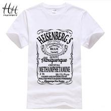 Breaking Bad T Shirt Men Hermanos T-Shirt Man Walter White Cook Tops Heisenberg Men Tops Tees Fairy Tail TA0306