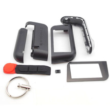 Russian version A93 case keychain for starline A93 A63 lcd remote two way car alarm system free shipping(China (Mainland))