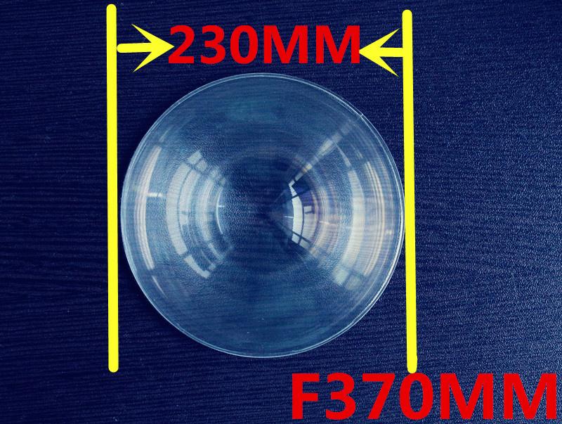 Diameter 230mm fresnel lens  Focal length 370mm Fresnel Lens big size fresnel lens thickness 2mm circle lens for DIY