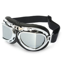 Buy Pilot Motorcycle Sport Ski Clear Goggle Eyewear Scooter Goggle Glasses Safety Protective Goggle for $6.60 in AliExpress store