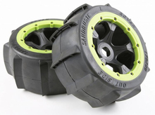 Buy Rear Sand Buster Tyres Paddle Wheels Tires Fit 1/5 RC Car ROAVN KM HPI Baja 5B 1/5 Scale Rc Baja Part NEW for $42.37 in AliExpress store