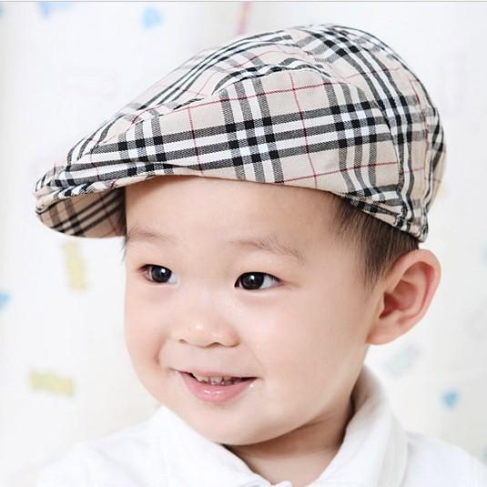 Дети бейсболка шляпы мальчик девушка берет шапки плед свободного покроя шапки детские ...