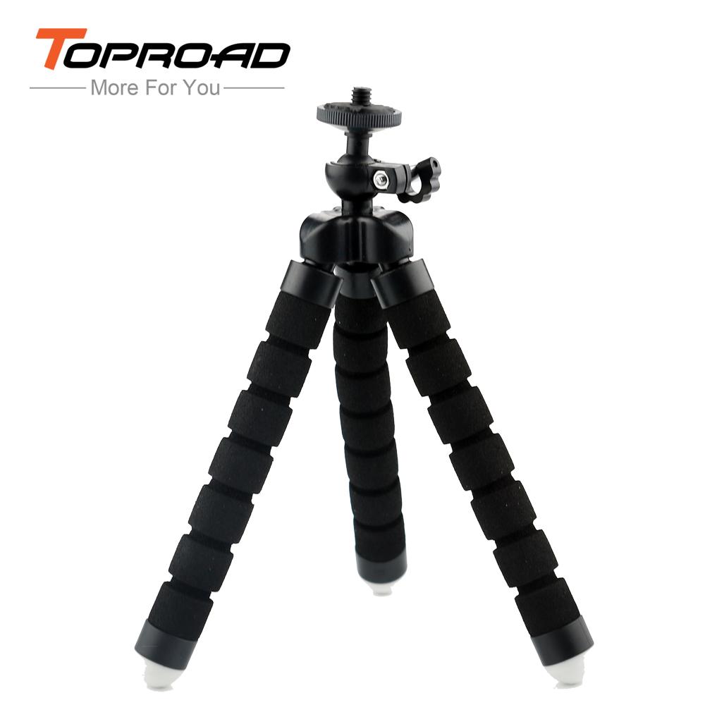 Mini Tripod Flexible Camera Tripod Flexible Leg for Gopro Digital Camera and Phone Gopro Mount Adapter for Gopro Hero 3(China (Mainland))