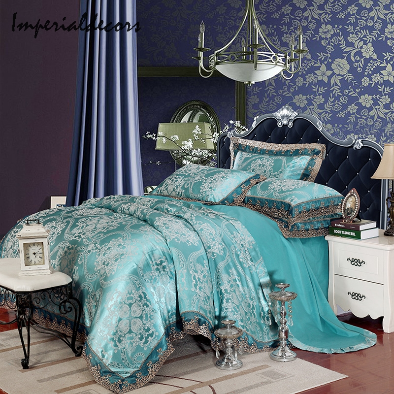 Turquoise printed sheets promotion shop for promotional turquoise printed she - Linge de maison cyrillus ...