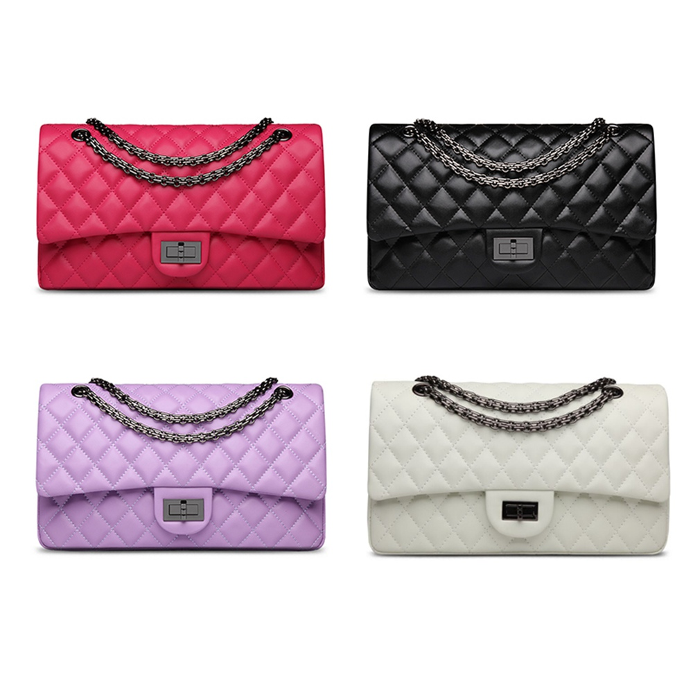 Women Handbags High Quality First Layer Cowhide Leather Day Clutches Chain Bags Large Size<br><br>Aliexpress