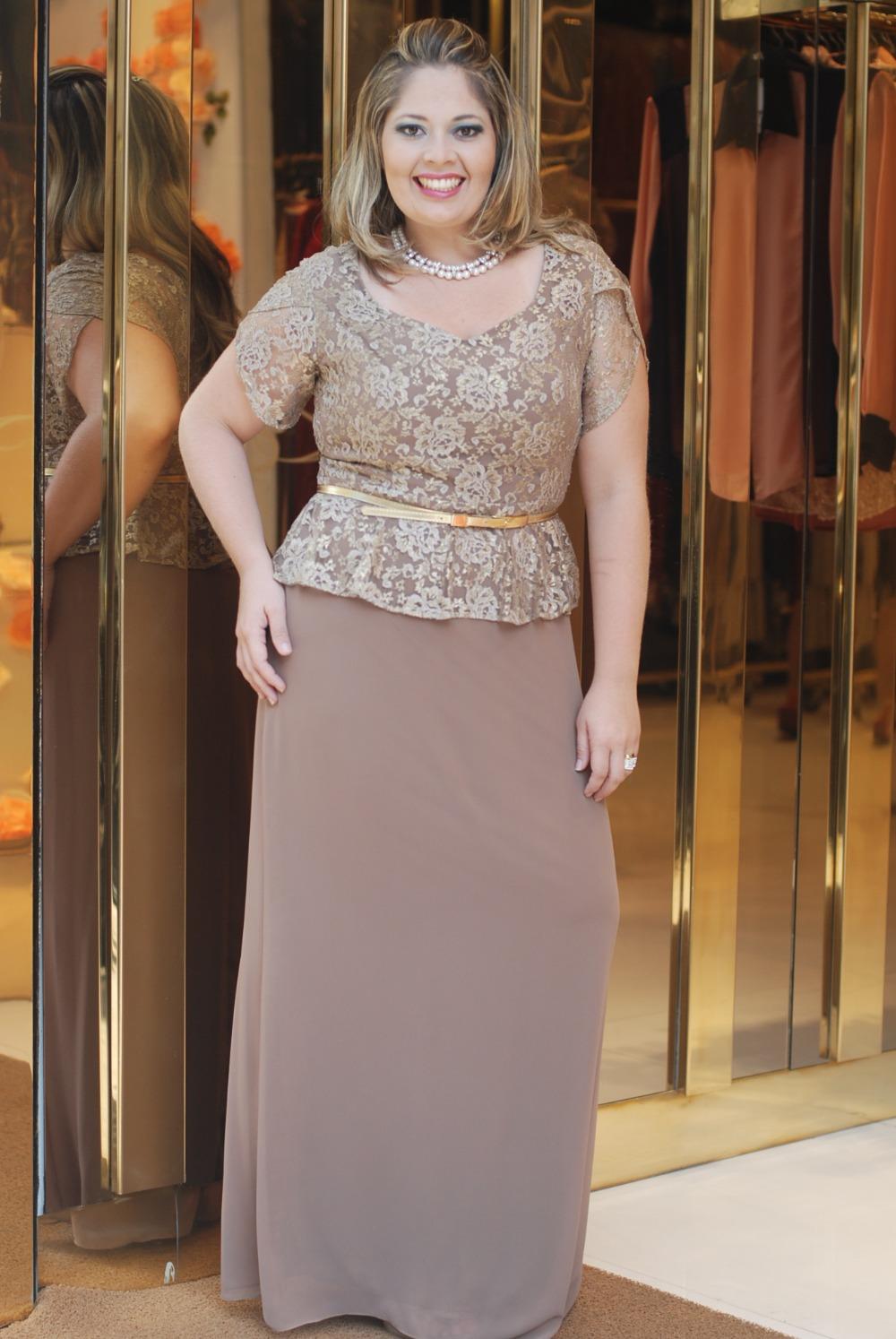 Plus size mother of the bride dresses a line chiffon floor length