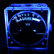 Buy 1pcs DC 12v Analog Panel VU Meter Audio Level Meter blue Back Light need driver for $5.56 in AliExpress store