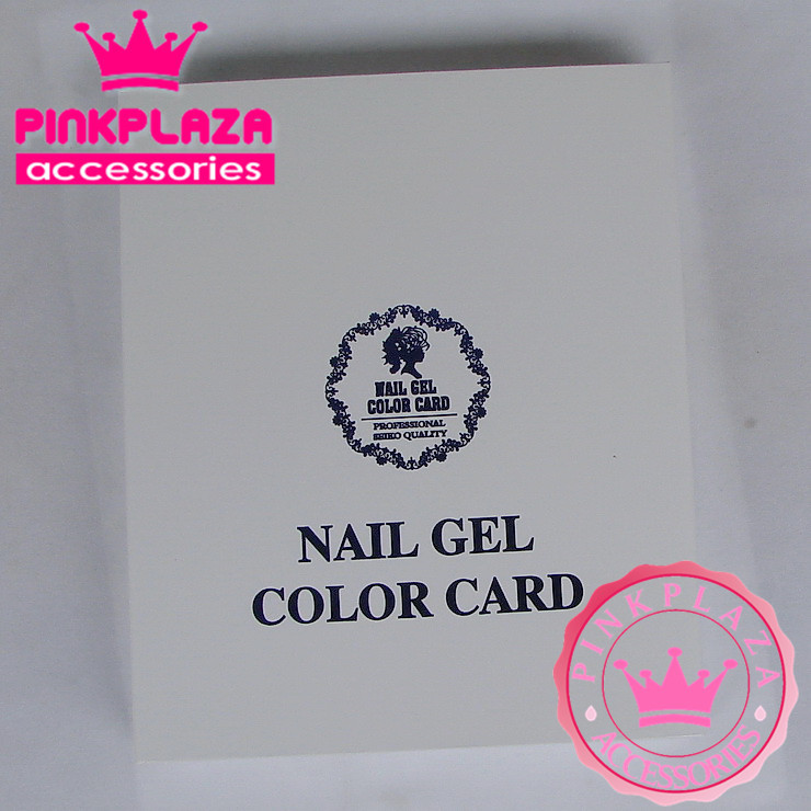 120 Colors Nail Colors Chart Color Collect Book Display Color Card for Nail Art Upscale Salon Manicure Special 2015New Arrivaled(China (Mainland))