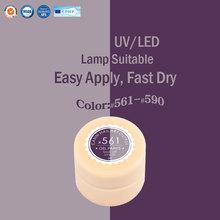 #50618 1pc/lot CANNI Factory Supply 141 Colors UV/LED Soak Off Color Gel Nail Salon UV Gel Paint(China (Mainland))