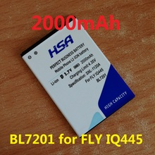 2000mAh BL7201 Mobile Phone Battery Use for FLY IQ445(China (Mainland))