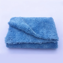 """Ultra Thick-450GSM Edgeless Microfiber Cloth 16""""X16"""" No Edge Premium Detailing Towel For Polishing,Buffing,Finishes,Car Wash(China (Mainland))"""