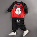 Baby Boys Girls Clothing Set Children Long sleeved Tops Pants Set Kids Cartoon Clothes Casual Suits
