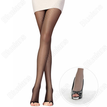 Open Toe Pantyhose Sexy Women s Tights Stockings 4Color Fashion Female Transparent Long for Spring Fall