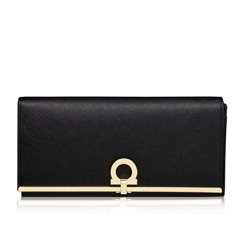 Genuine Leather Wallet Cowhide Women's Wallets Clutch Long Design Purse High Quality famous Designer Brand Bags Leather Handbags
