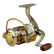 Superior Ratio 5.5:1 Aluminum Spool Spinning Reel 10BB EF1000 – 7000 Series Folding Arm Baitrunner Carp Spinning Reel Fishing
