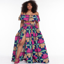 Buy summer African dresse womensTraditional African Clothing 2 Piece Set Women Africaine Print Dashiki Dresses African Clothes for $22.11 in AliExpress store