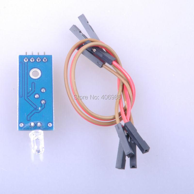 Photodiode Sensor Light Module 1 Channel Adjustable Digital Output 3.3V-5V for Arduino FZ0510