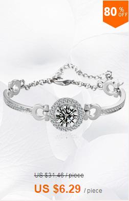 אופנה חדשה הכלה עיצוב תכשיטים מרומא 3Rows AAA+ זרקונים האבנים המרוצף הצמיד
