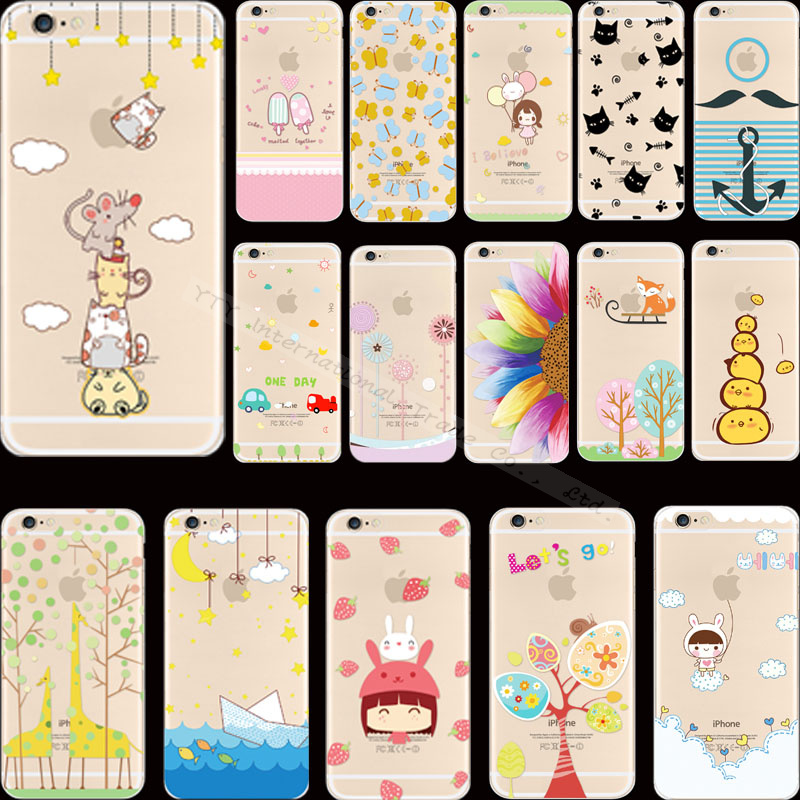 Painting Lucky Butterfly Cunning Fox Silicon Phone Cases Cover For Apple iPhone 5 iPhone 5S iPhone5S Case Shell KKS UYR AVS UAC(China (Mainland))