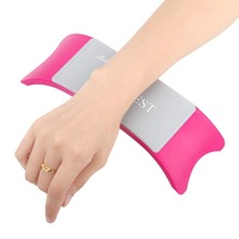 Hot Manicure Care Salon Hand Cushion Rest Pillow Nail Art Design Soft Silicone(China (Mainland))