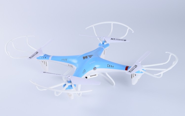 HT F801-Wifi FPV Headless Mode RC Quadcopter WiFi Real-time Transmission Helicopter 2.4G 6Axis Drone With Camera Remote Toy