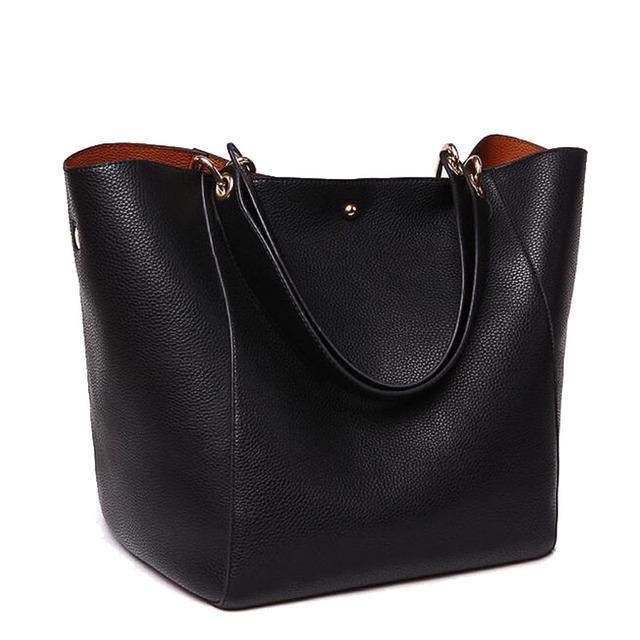 Натуральная кожа сумка для женщин Bigbag брендов женской моде кожаная сумка сумка ...