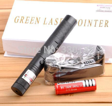 cost price green laser pointer 5000mw 5w high power 532nm focusable can burn match,burn cigarettes,pop balloon+charger+gift box(China (Mainland))