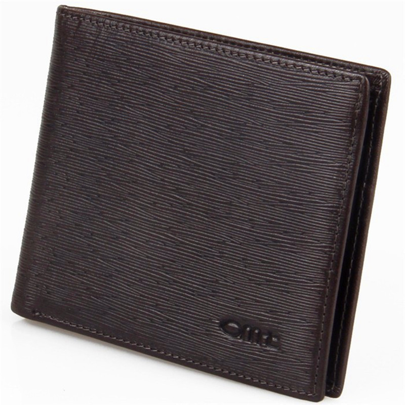 Men's Wallet Men Genuine Leather wallet Brand Design Fashion Business Real Leather Purse Male Clutch Credit Card Wallet N06(China (Mainland))