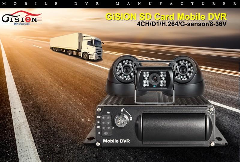 Купить Автомобильная Камера Dvr Комплекты С 3 Г + Функция GPS Мобильный Видеорегистратор Черный Ящик В Реальном Времени PC/Телефон удаленного Мониторинга Сигнализации I/O