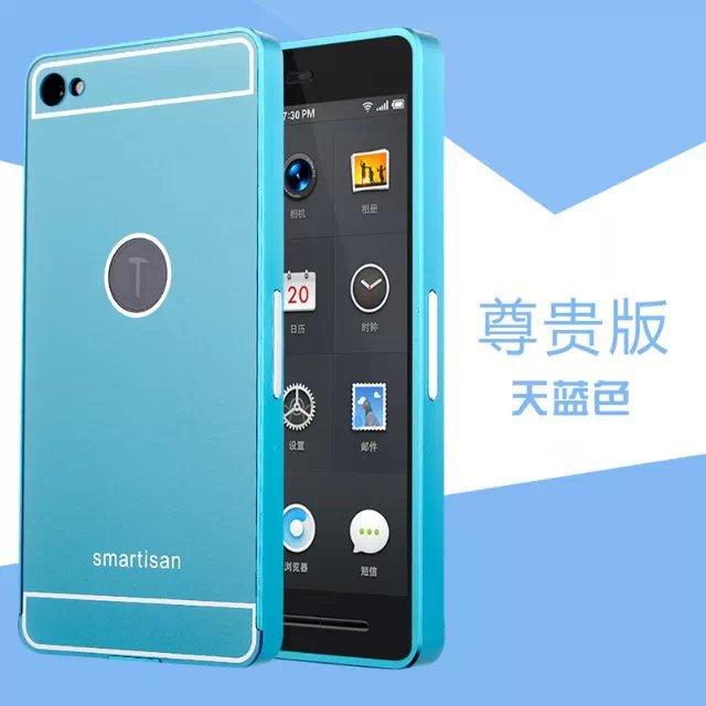 Smartisan T1 Phone Case , Luxury Aluminum Metal Frame For Smartisan T1 Frame Cover For Smartisan T1 Phone Cases Cover SJ0452(China (Mainland))