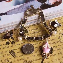 Fashion bracelet 2014 BJ fashion new simple lovely octopus multielement bracelet 0301 rats(China (Mainland))